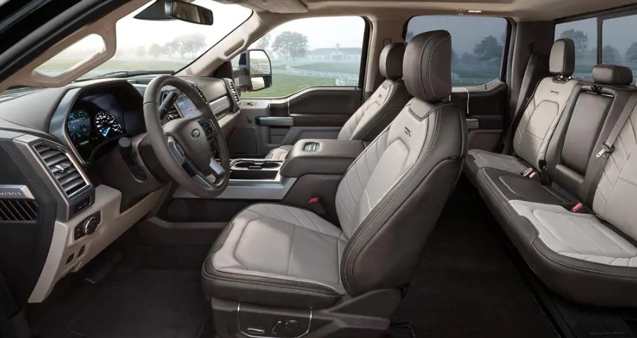 2021 Ford F 250 Hybrid interior 2021 Ford F 250 Hybrid Concept, Review, Specs, Release Date