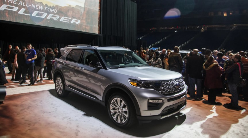 Ford Explorer 2020 USA changes