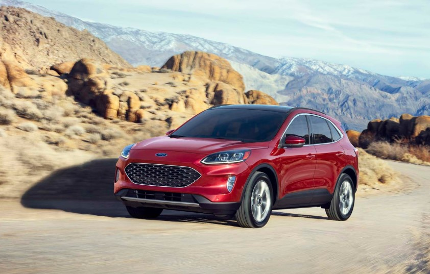 2020 Ford Escape Australia