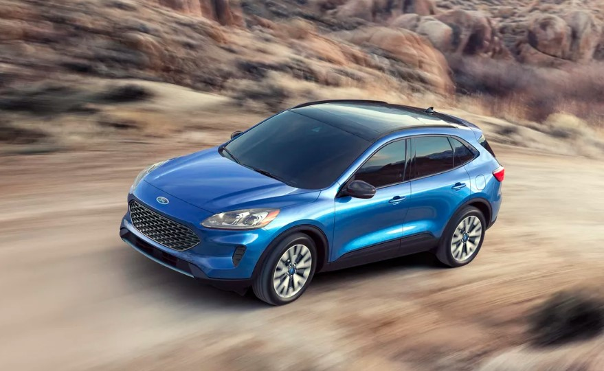 2020 Ford Escape Hybrid redesign