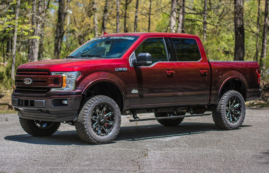 2020 Ford F-150 Alpine changes
