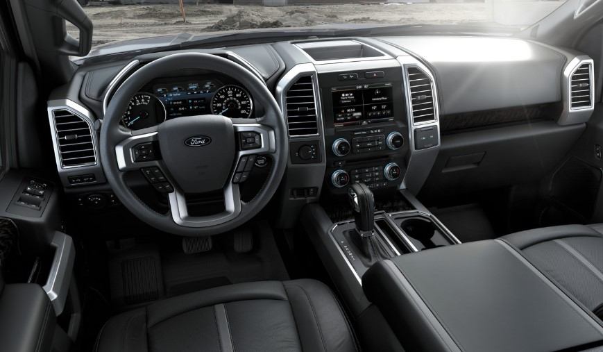 2020 Ford F 150 King Ranch interior 2020 Ford F 150 EV Colors, Release Date, Interior, Changes, Price