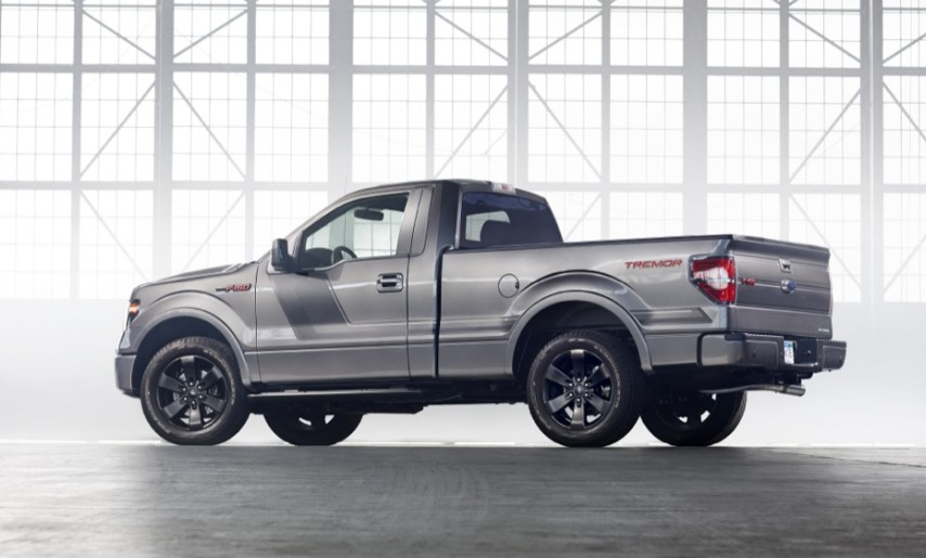 2020 Ford F-150 Regular Cab changes