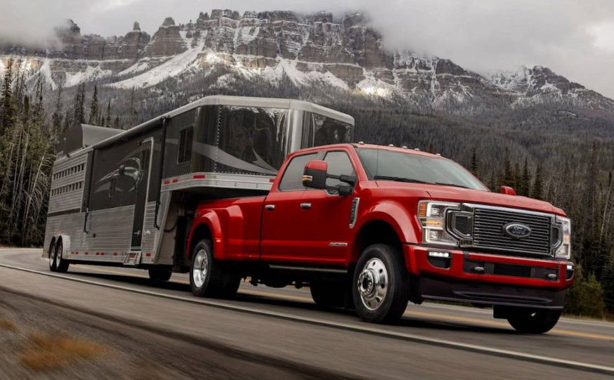 2020 Super Duty 7.3L V8 redesign
