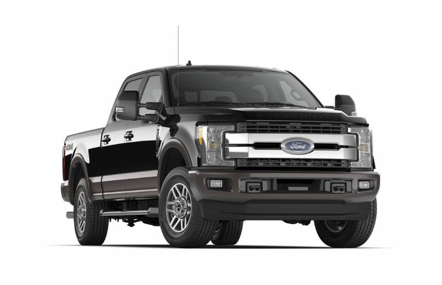 2020 Ford F-250 King Ranch changes