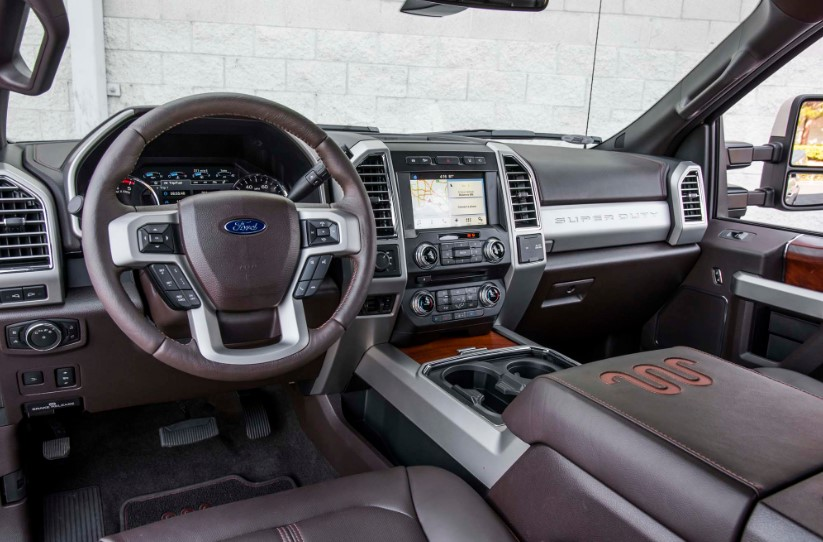 2020 Ford F 250 King Ranch interior 2020 Ford F 250 King Ranch Colors, Release Date, Interior, Changes, Price