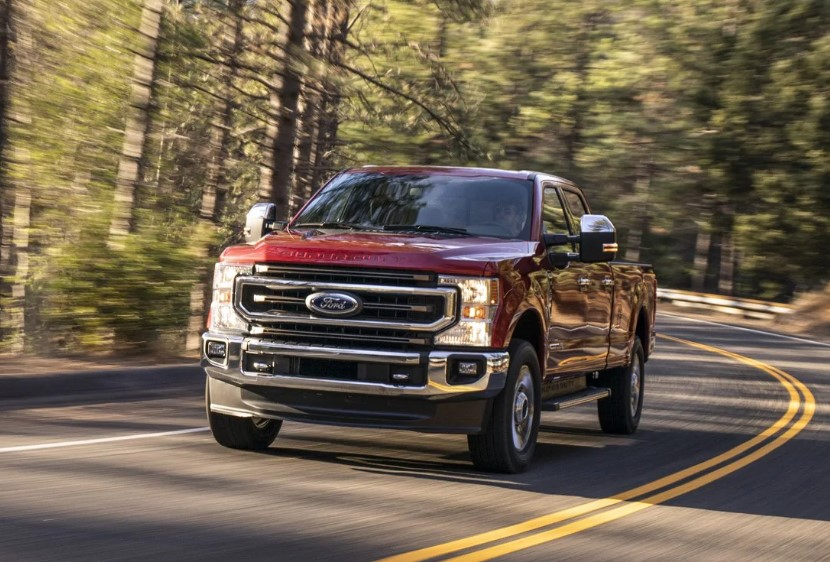 2020 Ford F-Series Super Duty changes