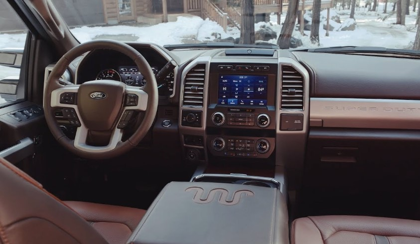 2020 Ford F-Series Super Duty interior