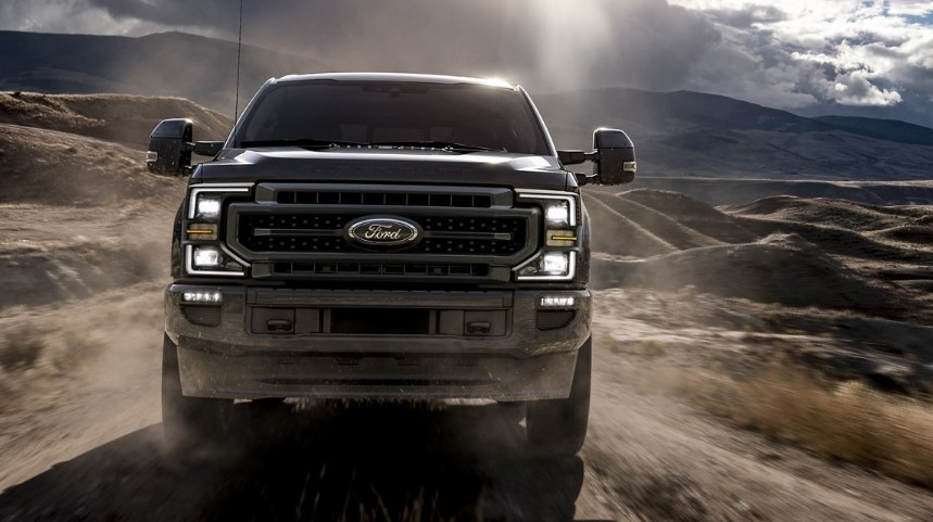 2020 Ford Super Duty 10 Speed Automatic changes