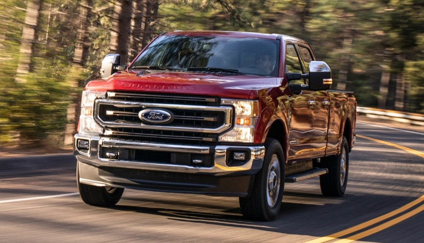 2021 Ford F-250 Hybrid changes