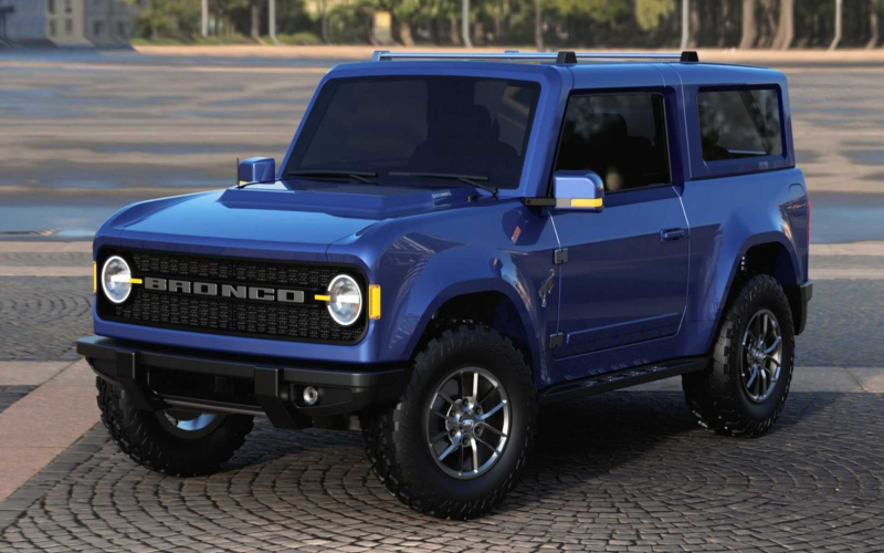 2020 Ford Bronco Rendered After Latest Intel, Leaked Headlights