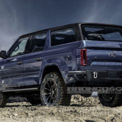 2020 Ford Bronco To Reportedly Use A 7-Speed Manual Gearbox