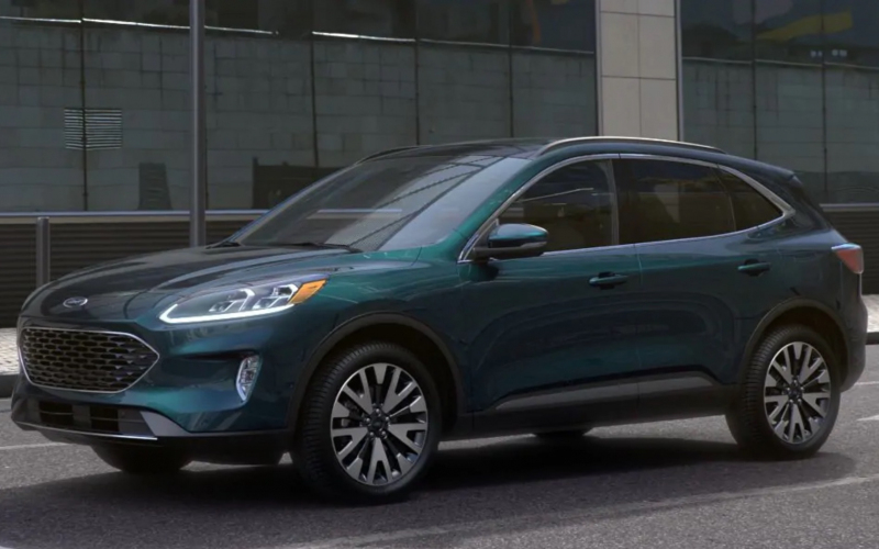 2020 Ford Escape Dark Persian Green D9 001 - Ford Authority