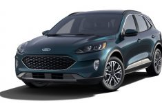 2020 Ford Escape Gets New Dark Persian Green Color: First Look