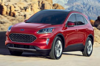 2020 Ford Escape Hybrid Returns Epa-Estimated 41 Mpg Combined