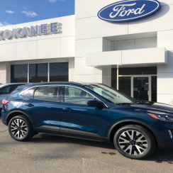 2020 Ford Escape Sel Dark Persian Green, 2.0L Ecoboost