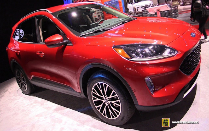 2020 Ford Escape Sel - Exterior And Interior Walkaround - 2019 Ny Auto Show