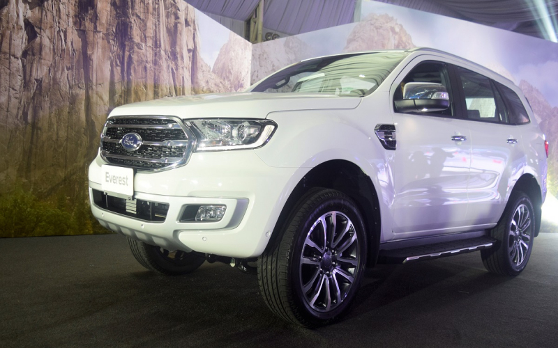 2020 Ford Everest: Specs, Prices, Features, Photos