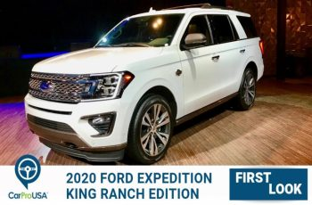 2020 Ford Expedition King Ranch First Look