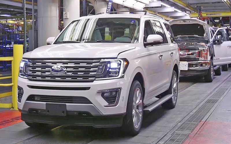 2020 Ford Expedition, Lincoln Navigator Production Factory