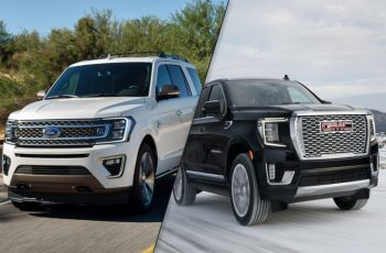 2020 Ford Expedition Vs 2021 Gmc Yukon Spec Comparison