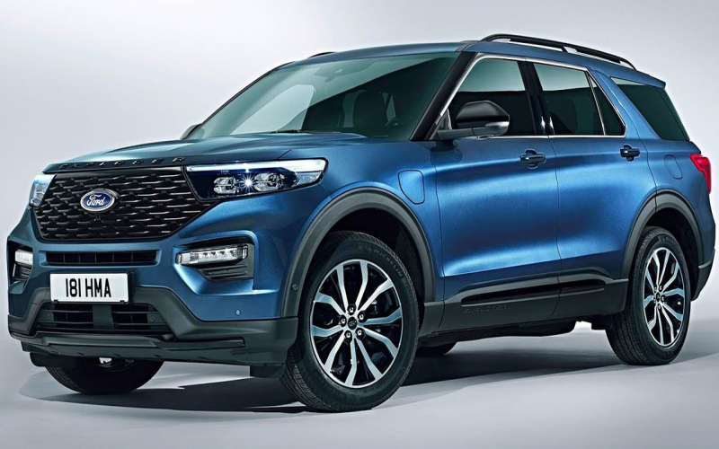 2020 Ford Explorer Plug-In Hybrid Electric Vehicle – 7 Seater, Luxury Suv /  Ford Explorer 2020