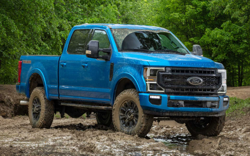 2020 Ford F-Series Super Duty Gets Rugged Tremor Off-Road