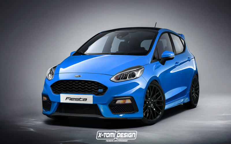 "2020 Ford Fiesta Rs Probably Confirmed""Broad Grin"