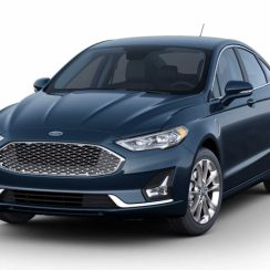 2020 Ford Fusion Gets Three New Colors For Its Final Year
