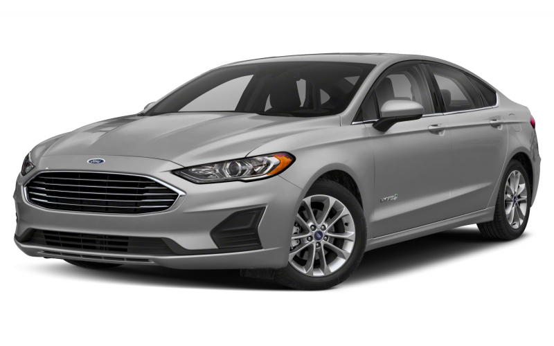 2020 Ford Fusion Hybrid Titanium 4Dr Front-Wheel Drive Sedan Pictures