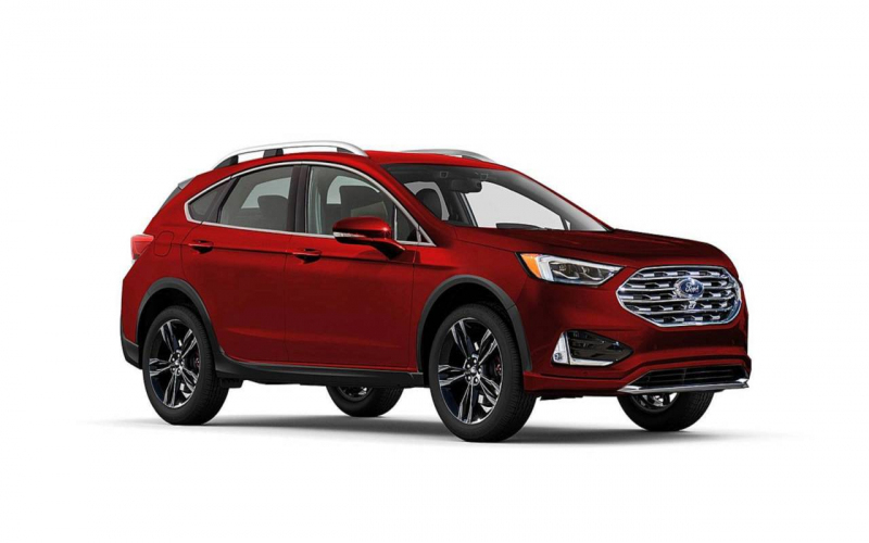 2020 Ford Fusion Suv Render | Insideevs Photos