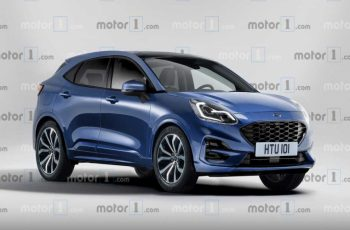 2020 Ford Puma Render Based On Teaser Previews The Fiesta Suv