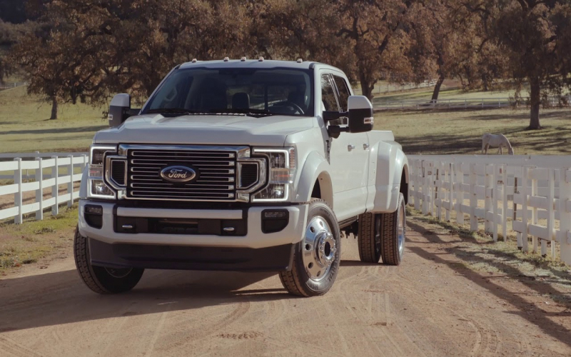 2020 Ford Super Duty F-450 Limited Footage