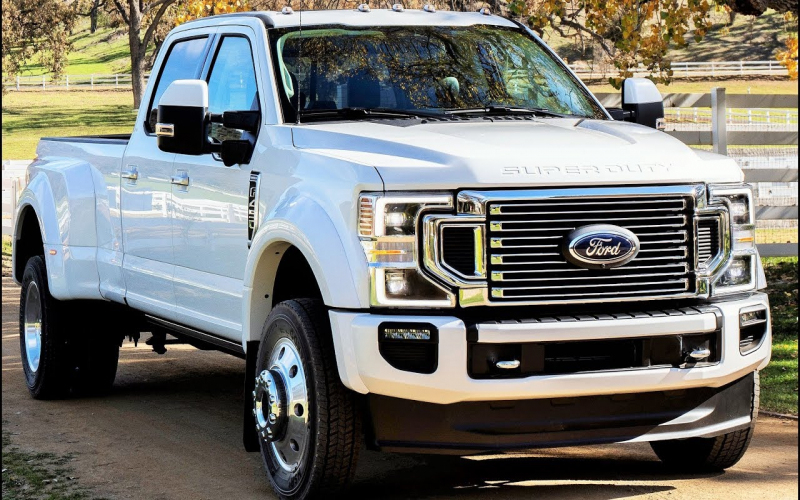 2020 Ford Super Duty F-450 Limited - Super Duty Pickup Raises Bar Again
