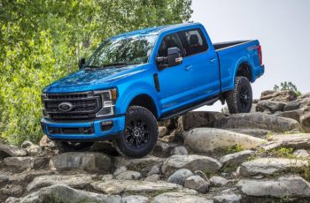 2020 Ford Super Duty Tremor Off-Road Package Trades Rock