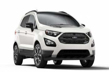 2021 Ford Ecosport Ses To Get Black Appearance Package As