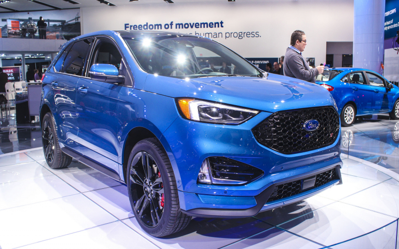 2021 Ford Edge 2.7 Ecoboost Electric Range, Color Option