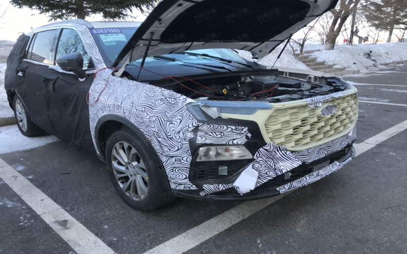 2021 Ford Endeavour (2021 Ford Everest) Spied - Interior