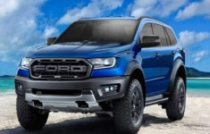 2021 Ford Everest New In 2020 | Ford Ranger Raptor, Ford Suv