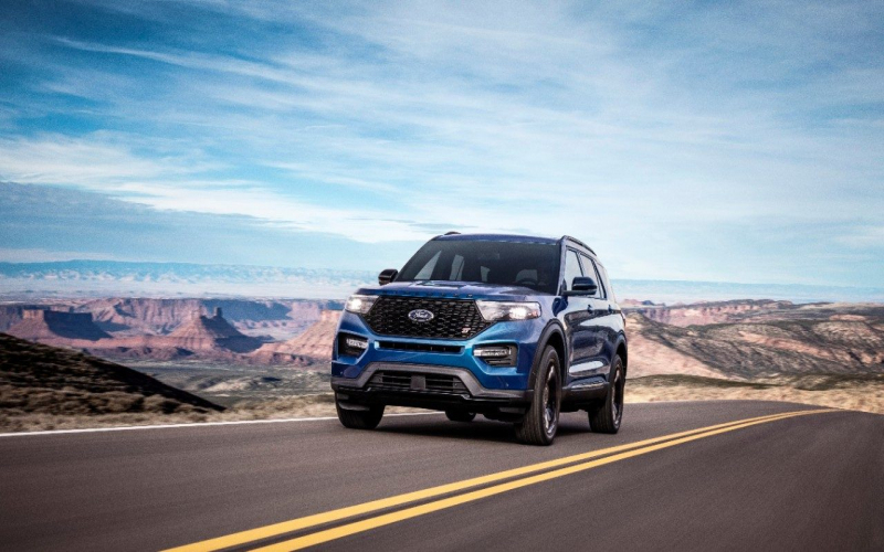 2021 Ford Explorer Colors Diesel Redesign New Photos