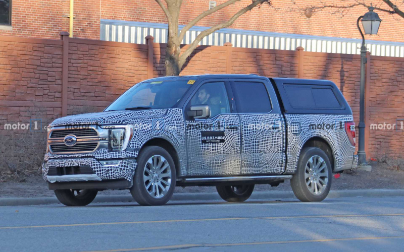 2021 Ford F-150 Interior To Get Nicer Materials, 15.5-Inch