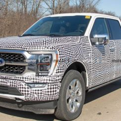 2021 Ford F-150 New Front End Spied Completely Uncovered
