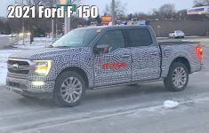 2021 Ford F-150 Prototype Caught Testing With All Led Lights