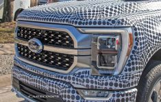 2021 Ford F-150 Shows Off New Front And Rear End Design