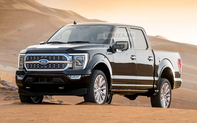 2021 Ford F-150 To Get A 3.5L V6 Hybrid Engine - Report