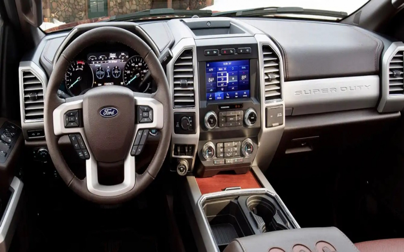 2021 Ford F-250 Interior – Pickuptruck2020