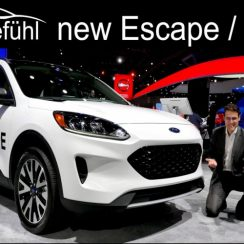 All-New Ford Escape 2020 Ford Kuga Exterior Interior Review - Autogefühl