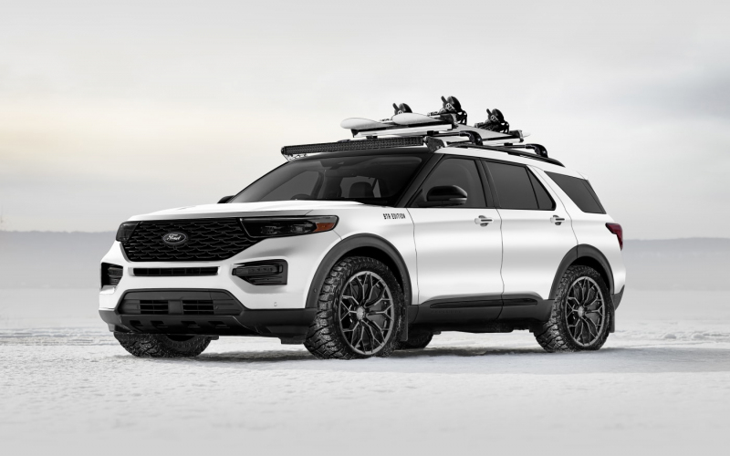 Deze Custom 2020 Ford Explorer Hybrid Is Gebouwd Om Elk
