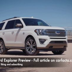 Expect Some Some Big Changes For The 2021 Expedition - Carfacta