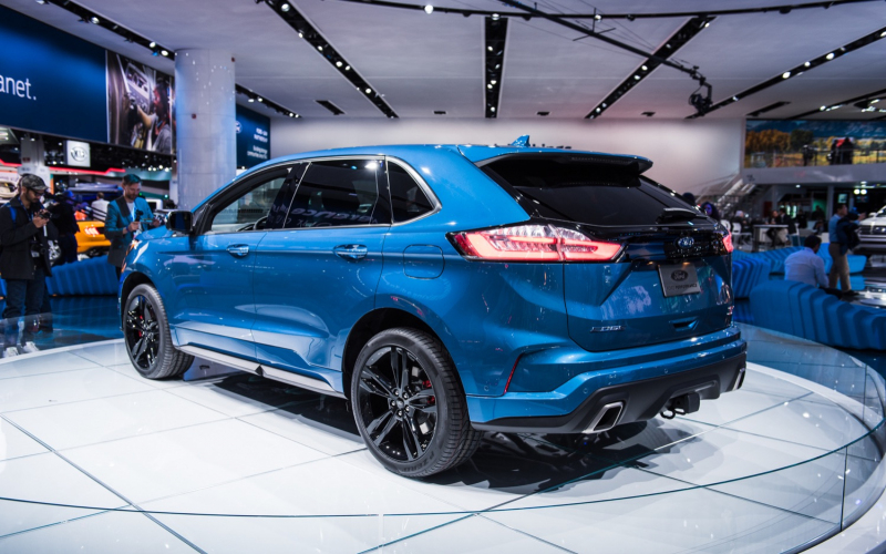 Ford Edge Sales Decrease 4 Percent In Q1 2020